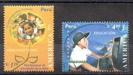 Serie De Perú Nº Yvert 1431/32 ** UPAEP - Peru