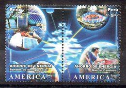 Serie De Perú Nº Yvert 1605/06 ** UPAEP - Peru