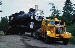 CAMION Américain PERTERBILT (High Bridge Park) Transport Steam Locomotive Vapeur Union Pacific - Camion, Tir