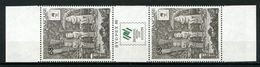 POLYNESIE 1988 N° 310A ** Neuf MNH Bande Non Pliée Superbe Cimetière Noukhaiva Sydpex 88 Australie Sydney - Polinesia Francese