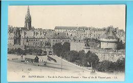 35-----SAINT-MALO--vue De La Porte Saint-vincent--voir 2 Scans - Saint Malo