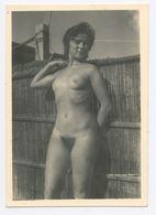 DC541 Photographie Vintage Charme Nue Femme érotisme Nude Risque Nu Woman Snapshot AKT FKK érotique - Weiblicher Akt (1941-1960)