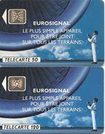 Télécartes EURO SIGNAL 50 Et 12 U 1991 - France