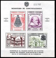 Hoja Bloque De Colombia Nº Yvert 10 ** (Pequeño Corte Inferior Izquierda Y Centro Derecha) - Colombie