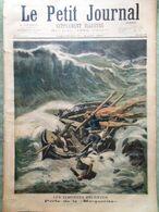 Le Petit Journal Du 21 Mars 1897 Perte Marguerite Jardin Acclimatation Trafalgar - Kranten