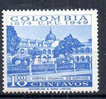 Sello De Colombia Nº Yvert 449 ** - Colombie