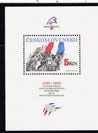 (K 6577) Tschechoslowakei, Block 93** - Hojas Bloque