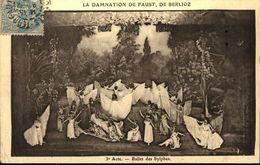 LA DAMNATION DE FAUST  De BERLIOZ  3° Acte Ballet Des Sylphes - Opera