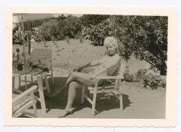 DC546 Photographie Vintage Charme Nue Femme érotisme Nude Risque Nu Woman Snapshot AKT FKK érotique - Weiblicher Akt (1941-1960)
