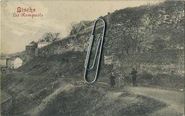 Binche :  Les Remparts  ( Ecrit  1913 Avec Timbre ) - Binche