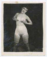 DC547 Photographie Vintage Charme Nue Femme érotisme Nude Risque Nu Woman Snapshot AKT FKK érotique - Weiblicher Akt (1941-1960)