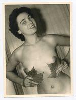 DC548 Photographie Vintage Charme Nue Femme érotisme Nude Risque Nu Woman Snapshot AKT FKK érotique - Weiblicher Akt (1941-1960)
