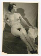 DC549 Photographie Vintage Charme Nue Femme érotisme Nude Risque Nu Woman Snapshot AKT FKK érotique - Weiblicher Akt (1941-1960)