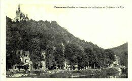 ESNEUX Sur  Ourthe.  Avenue De La Station Et Château Le FY.    Carte Photo. - Esneux
