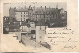 03 - LAPALISSE Le Pont Précurseur écrite Timbrée - Lapalisse