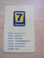 7 Days Inn,Guangzhou China - Chiavi Elettroniche Di Alberghi