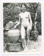 DC551 Photographie Vintage Charme Nue Femme érotisme Nude Risque Nu Woman Snapshot AKT FKK érotique - Weiblicher Akt (1941-1960)