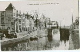 's-Gravenhage 1907; Wagenbrug, Bierkade (Tram) - Gelopen. (J.H. Schaefer - Amsterdam) - Den Haag ('s-Gravenhage)