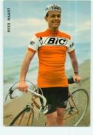 Kees HAAST . 2 Scans. Cyclisme. Bic - Cyclisme