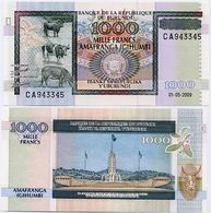 BURUNDI       1000 Francs       P-46       1.5.2009       UNC - Burundi