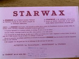 1 BUVARD STARWAX - Pulizia