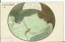 CARTE POSTALE ART NOUVEAU - Illustration KIRCHNER Raphael - LEGENDES II - Kirchner, Raphael
