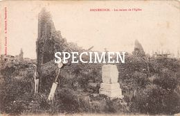 Les Ruines De L'Eglise - Dikkebus - Ieper