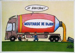 CAMION - Transport  - MOUTARDE De DIJON - Le Bouchon !  - Série Humour ès Laville - Camion, Tir
