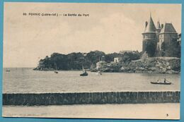 PORNIC - La Sortie Du Port - Circulé 1927 - Pornic