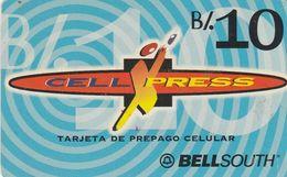 Panama, PAN-BS-02, CellXPress Logo De B/ 10, 2 Scans. - Panama