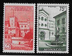 Monaco N°397/398 - Neufs ** Sans Charnière - TB - Ungebraucht