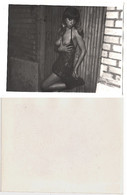 1960s Original ART Home Private 12x9 Vintage Photo Photography From Negative Beautiful Erotic Woman NU Eros Russia (9472 - Weiblicher Akt (1941-1960)