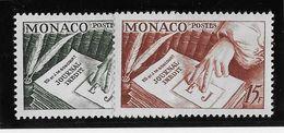 Monaco N°392/393 - Neufs ** Sans Charnière - TB - Ungebraucht