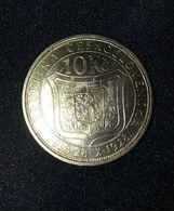 10 Korun 1928 10° Anniversary Of Indipenence Cecoslovacchia Czechoslovakia  Cécoslovacchie - Tchécoslovaquie