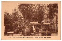 50 JULLOUVILLE - HOTEL DE PARIS - Un Coin Du Jardin De La Potiniere - Cpa Manche - Frankrijk