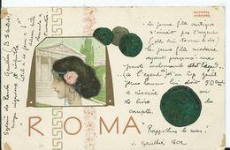 CARTE POSTALE ART NOUVEAU - Illustration KIRCHNER Raphael - ROMA - Kirchner, Raphael