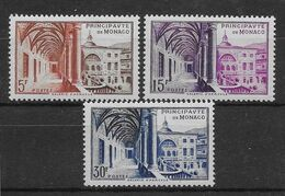 Monaco N°383/385 - Neufs ** Sans Charnière - TB - Ungebraucht