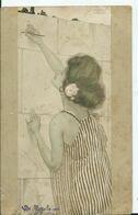 CARTE POSTALE ART NOUVEAU - Illustration KIRCHNER Raphael - - Kirchner, Raphael