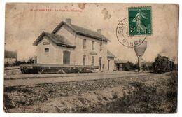 50 CAROLLES - La Gare Du Tramway - Cpa Manche - Andere Gemeenten