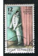 REP. CECA (CZECH REPUBLIC) - SG 131 - 1996  J.G.DEBURAN, MIME ACTOR  -   USED - República Checa