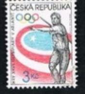 REP. CECA (CZECH REPUBLIC) - SG 132 - 1996  OLYMPIC GAMES: JAVELIN  -   USED - República Checa