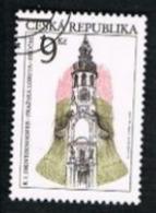 REP. CECA (CZECH REPUBLIC) - SG 135  - 1996  TOURIST SITES: PRAGUE LORETTO   -   USED - República Checa