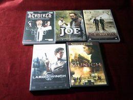 5 DVD  10 EUROS - Collections, Lots & Séries