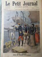 Le Petit Journal Du 10 Avril 1898 Accident Chesnay Troppmann De Nassandres Mer - Kranten