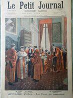 Le Petit Journal Du 17 Avril 1898 Affaire Zola Cuba Crime Vert Armée Espagnole - Kranten