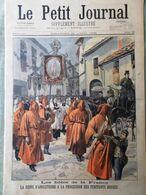 Le Petit Journal Du 24 Avril 1898 Affaire Zola Vasco De Gama Penitents Rouges - Kranten
