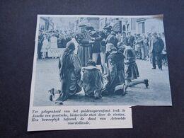 """Origineel Knipsel ( 5819 ) Uit Tijdschrift """" De Stad """"  1937 :  Assche   Asse - Alte Papiere"""