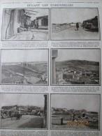 La Grande Guerre  14-18 Devant Les Dardanelles  12 Photos  Gallipoli  Turquie - Old Paper