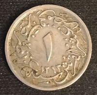 EGYPTE - EGYPT - 1/10 QIRSH 1902 ( 1293 ) - KM 289 - ( Abdul Hamid II ) - Egypte