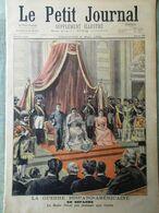Le Petit Journal Du 8 Mai 1898 Guerre Hispano-Americaine Carte Antilles Sanremo - Kranten
